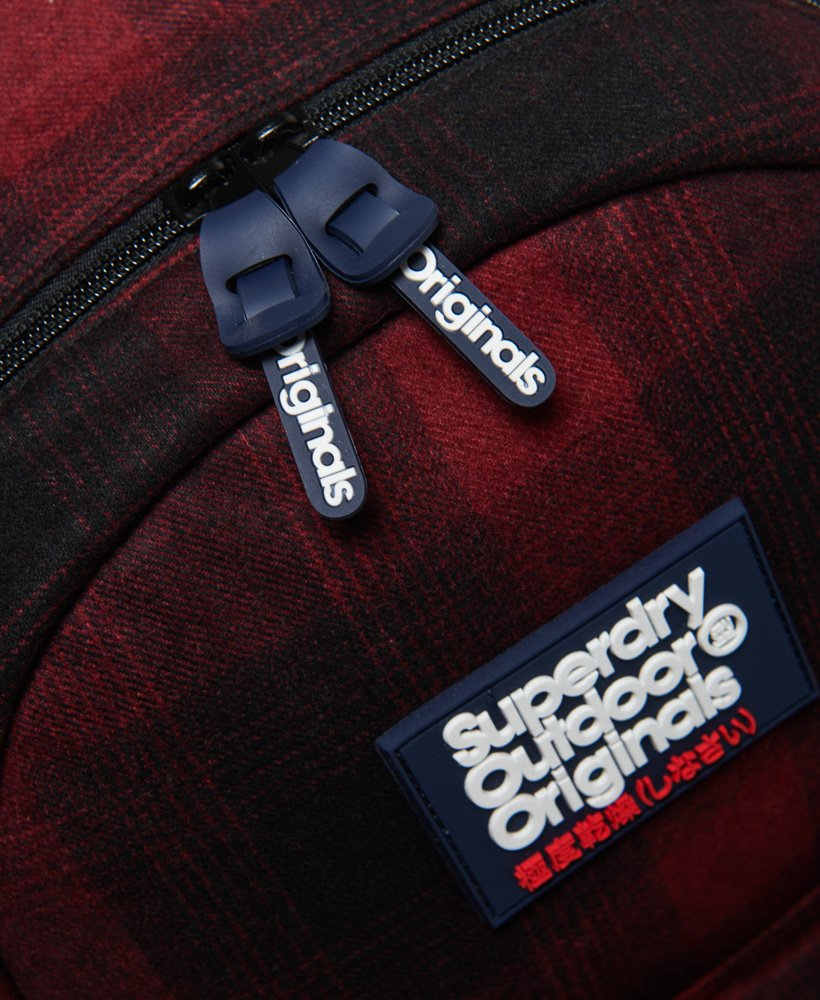 Red Superdry Mens  Frontier Montana Backpack Os