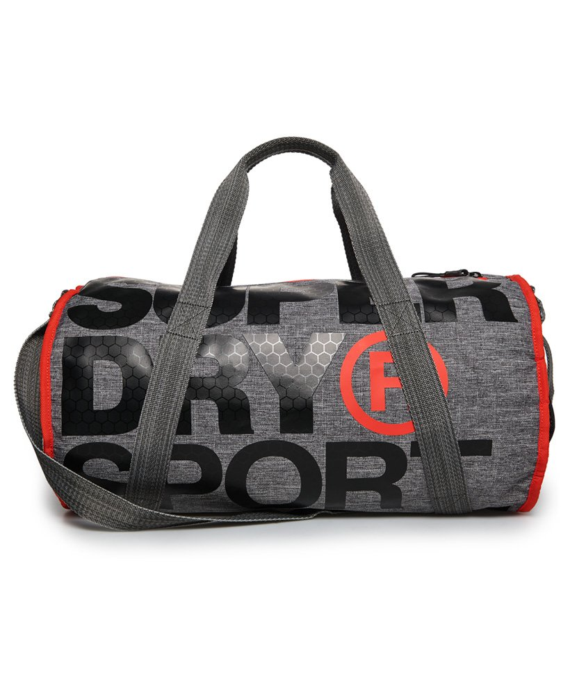 3259cc0724 Mens - XL Sports Barrel Bag in Grey Marl | Superdry