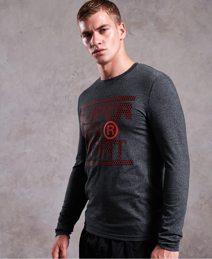 Superdry Core Long Sleeve Graphic T-Shirt