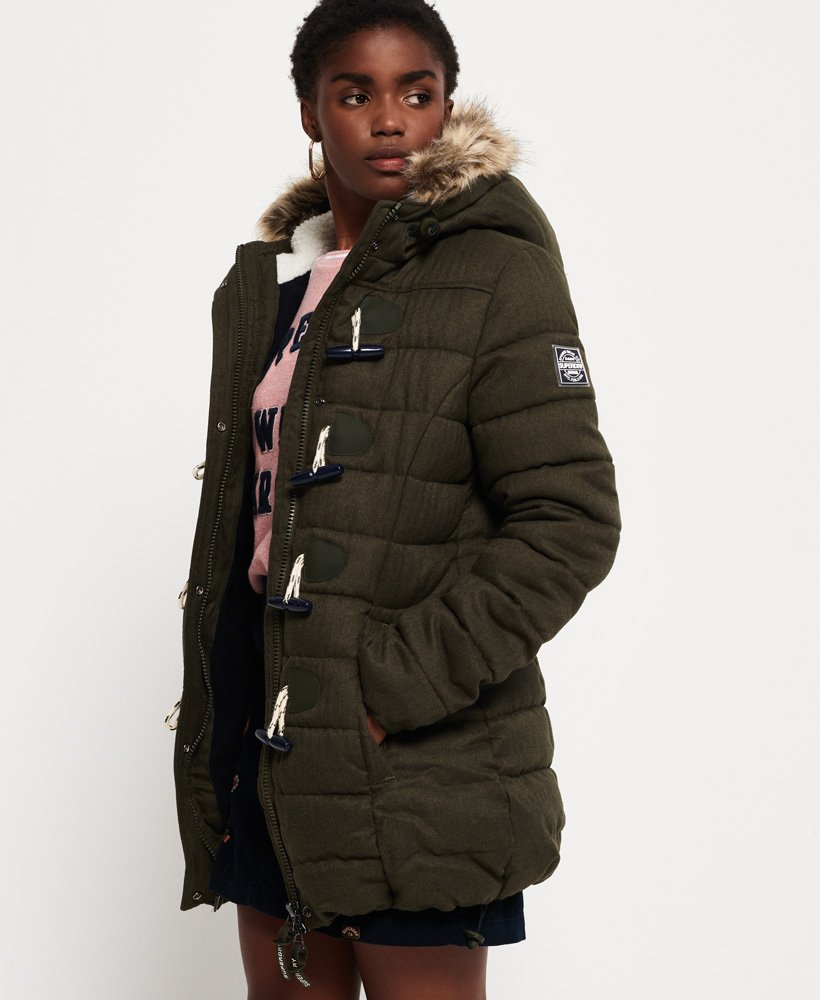 Superdry Veste Tall Marl Toggle Puffle Vestes et