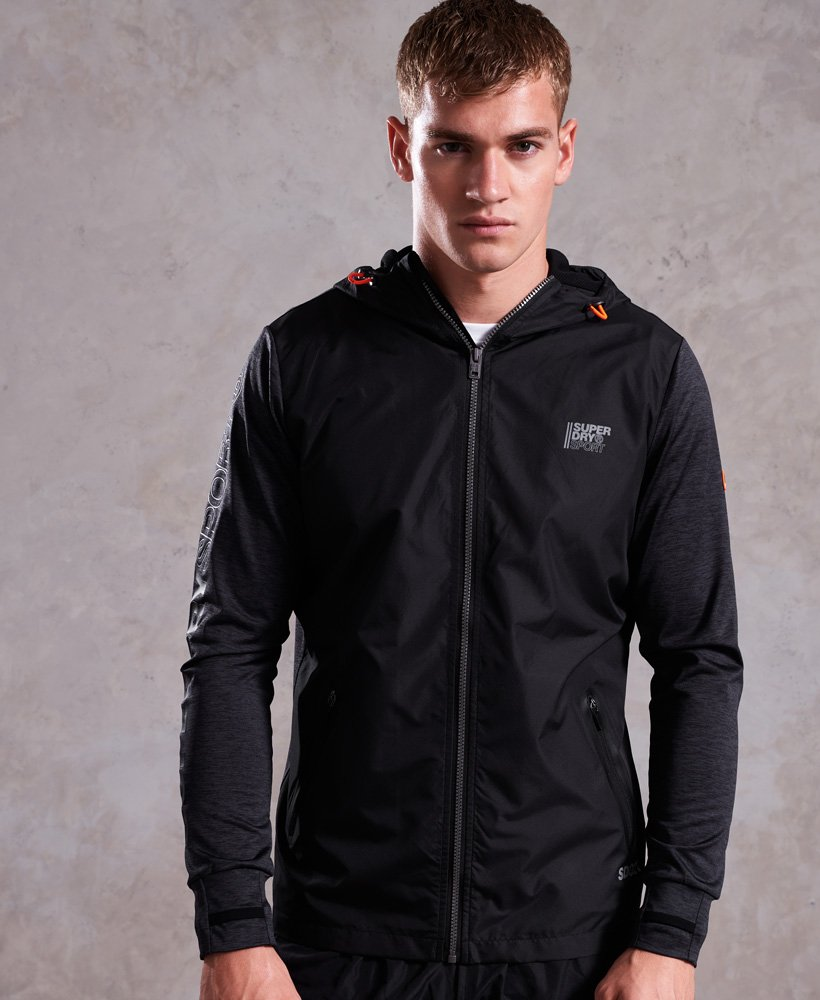 Superdry Active Reflective Hybrid Jacket thumbnail 1