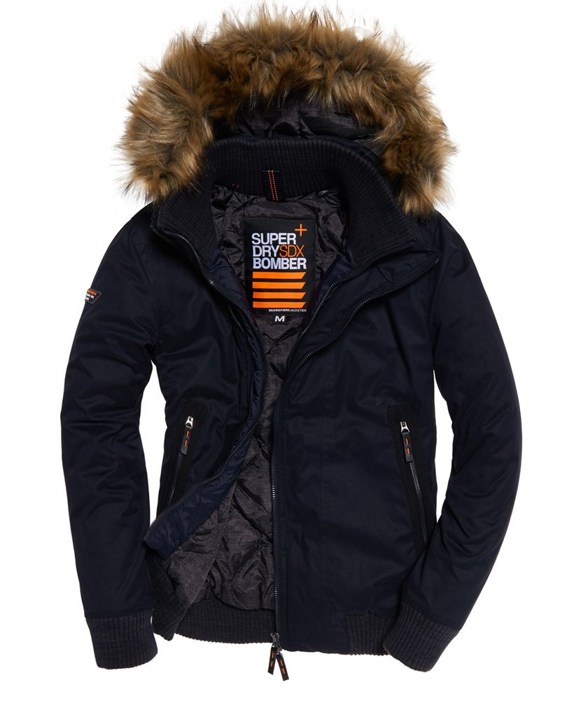 Superdry Microfibre SD-Windbomber Jacket thumbnail 1
