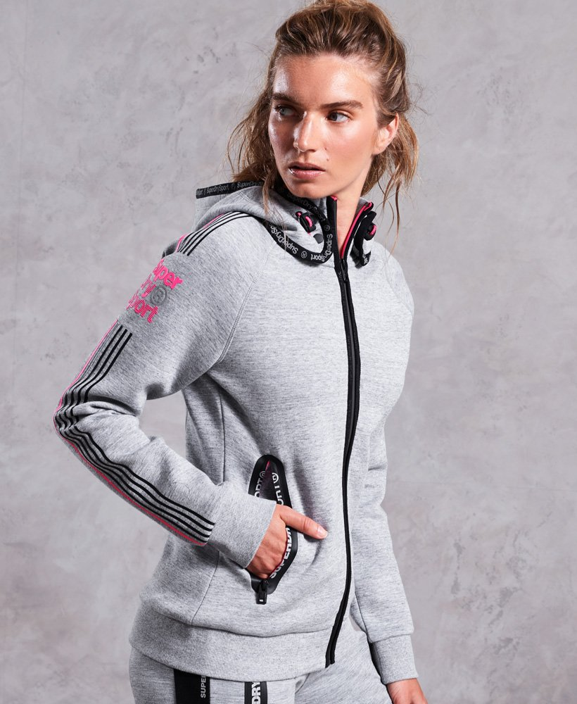 Superdry Gym Tech Sport Snorkel Hoodie thumbnail 1