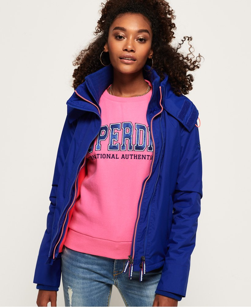 Superdry Arctic Hooded Pop Zip SD- Windcheater Jacket thumbnail 1