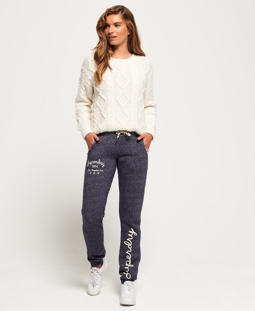 Superdry Pantalon de survêtement brodé Rylee
