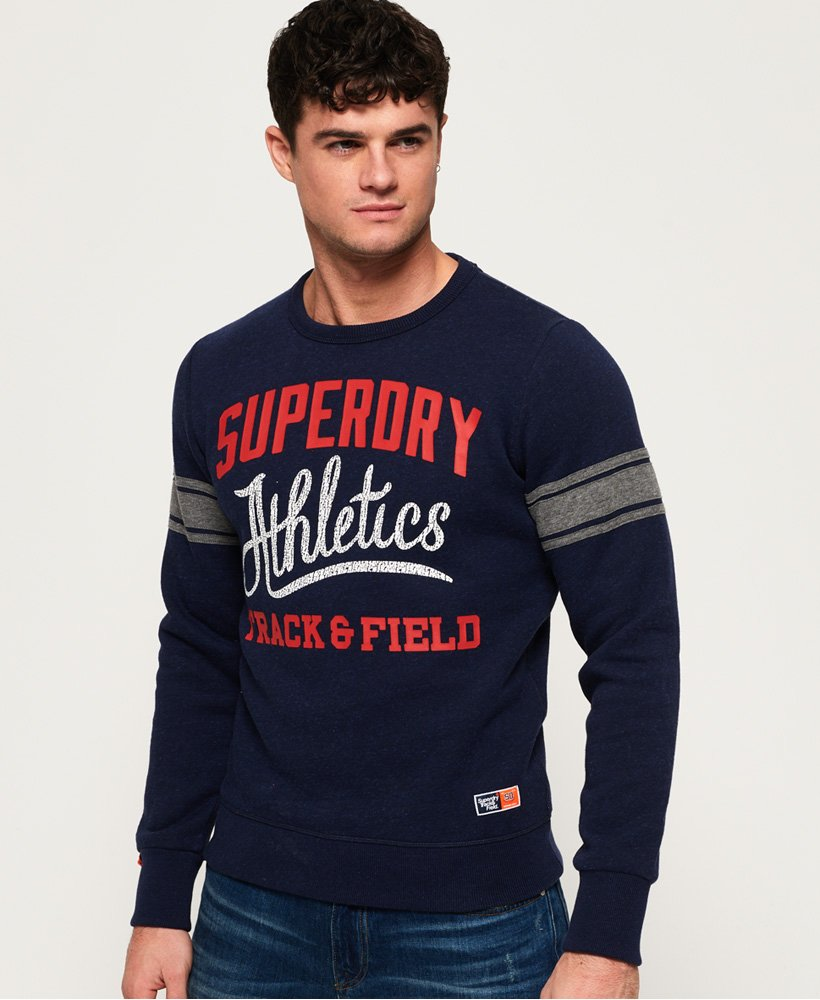 Superdry Track & Field Crew Jumper thumbnail 1