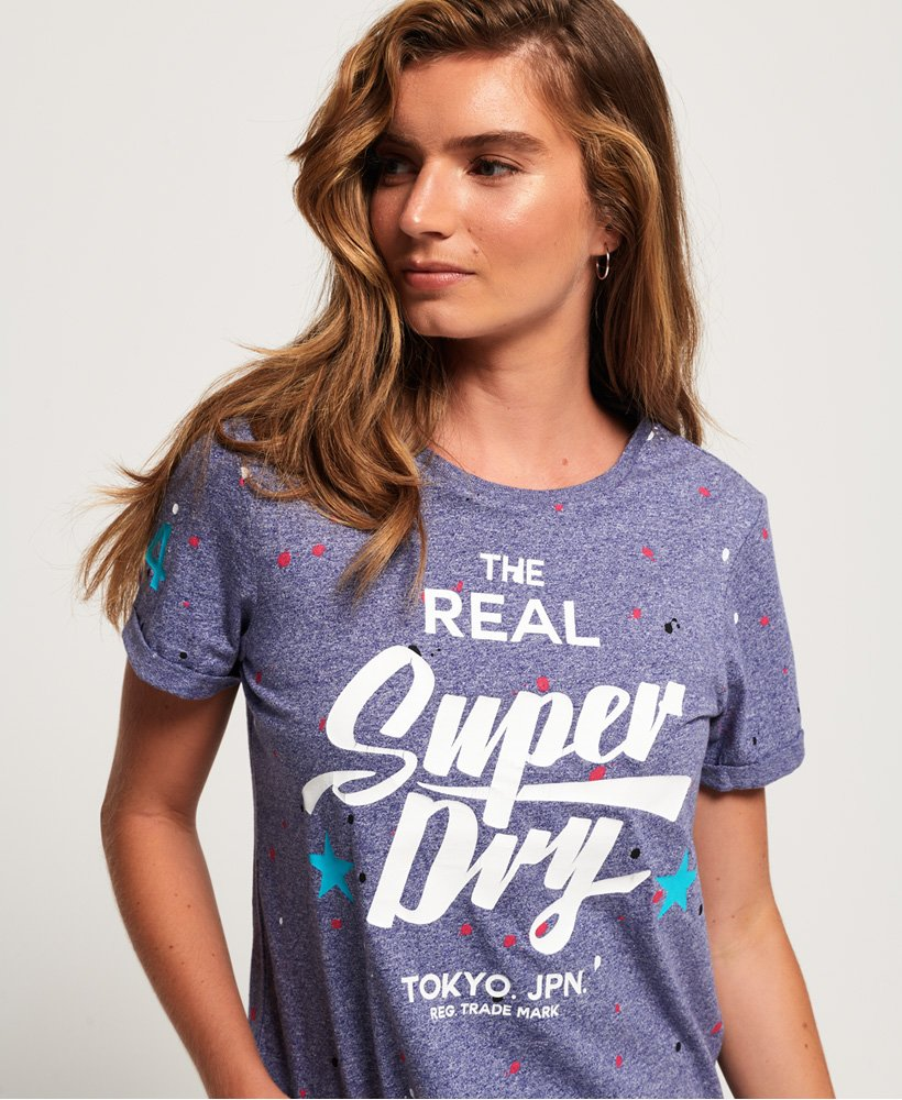Superdry Splat Heritage Boxy T-shirt thumbnail 1