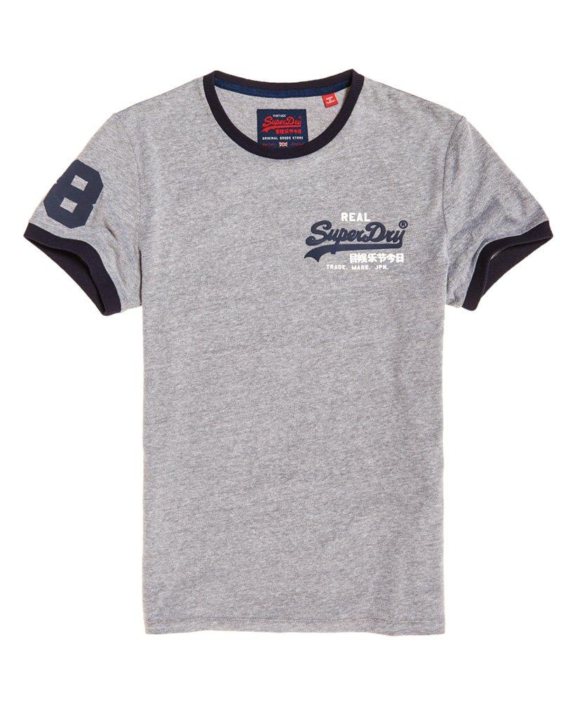 huge selection of f599b f9714 Superdry Vintage Logo Ringer T-Shirt - Men's T Shirts