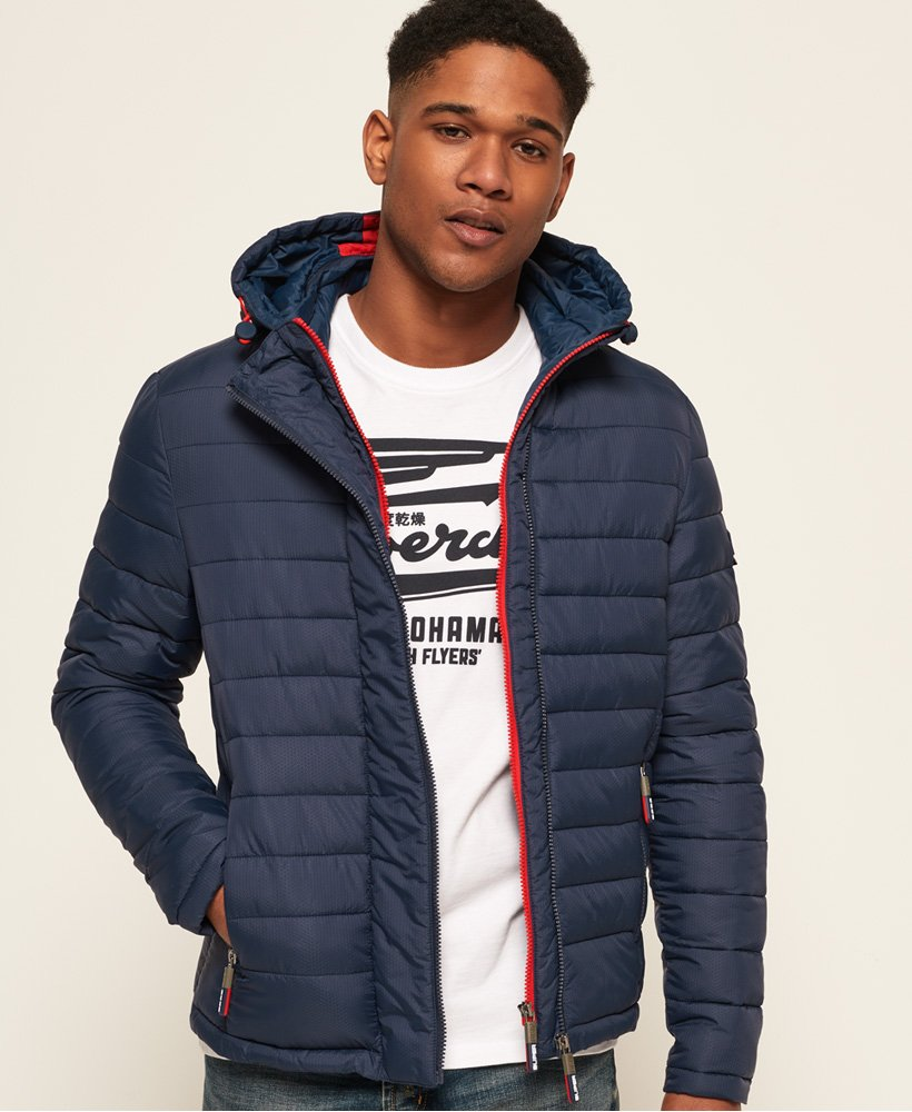Superdry Fuji Double Zip Hooded Jacket thumbnail 1