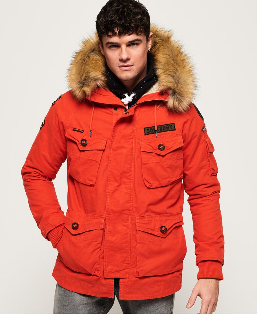 Superdry Rookie Heavy Weather Parka Jacket thumbnail 1