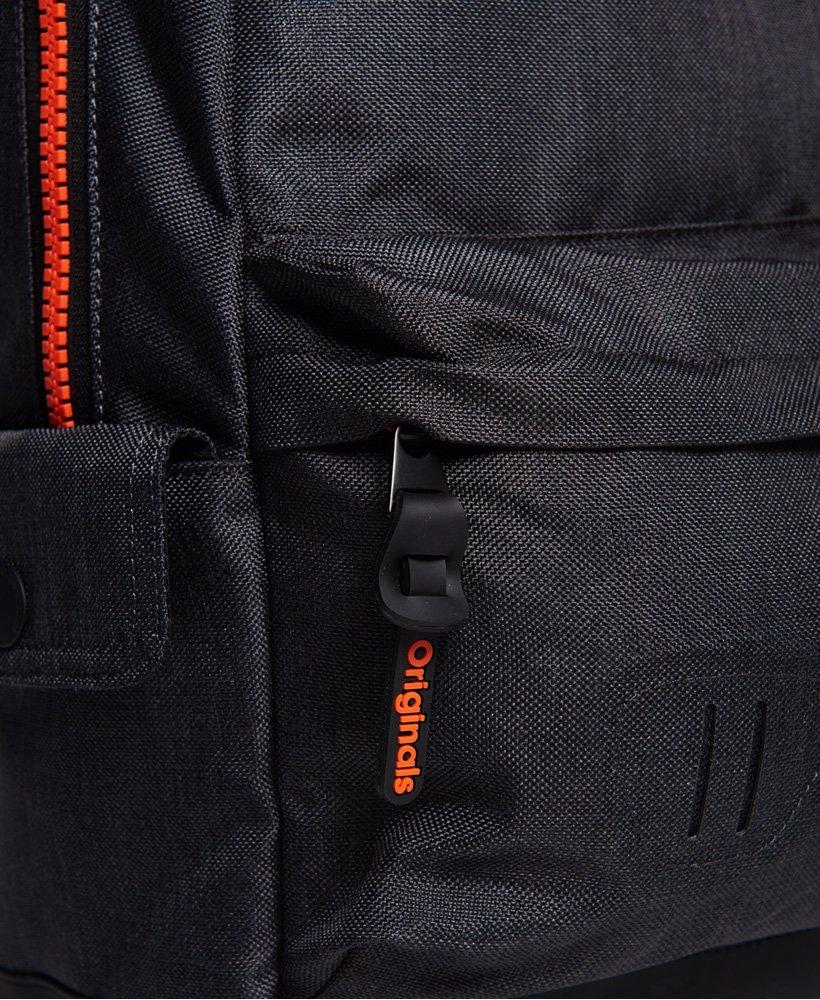 Superdry Fresh International Montana Rucksack Backpack Bag Black
