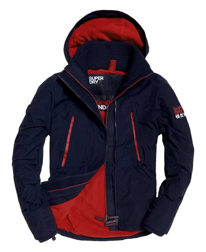 Superdry Giubbotto con cappuccio Polar SD-Windattacker