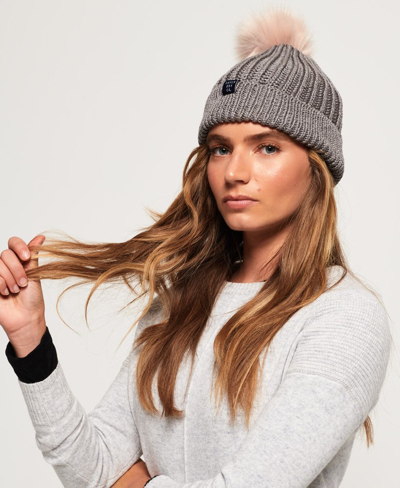 Superdry Aries Sparkle Beanie thumbnail 1