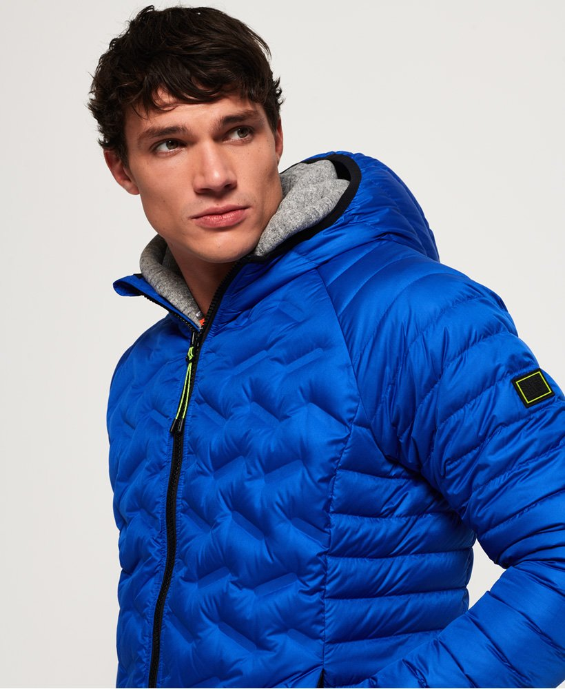 Superdry Down Radar Mix Quilted Jacket thumbnail 1