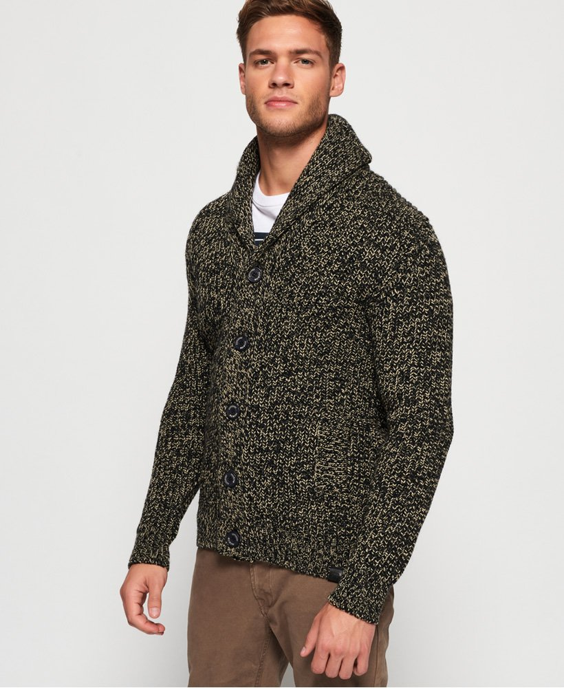 Superdry Jacob Shawl Cardigan thumbnail 1