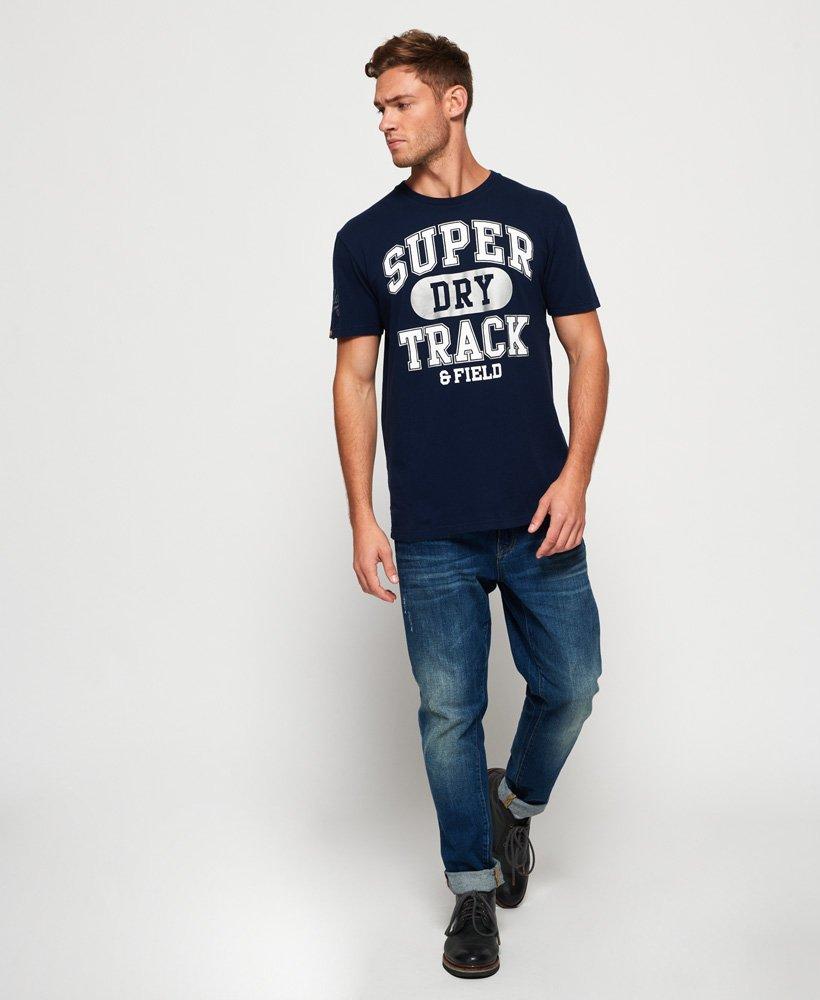 Superdry 1994 Metallic Box Fit T skjorte Herre T skjorter