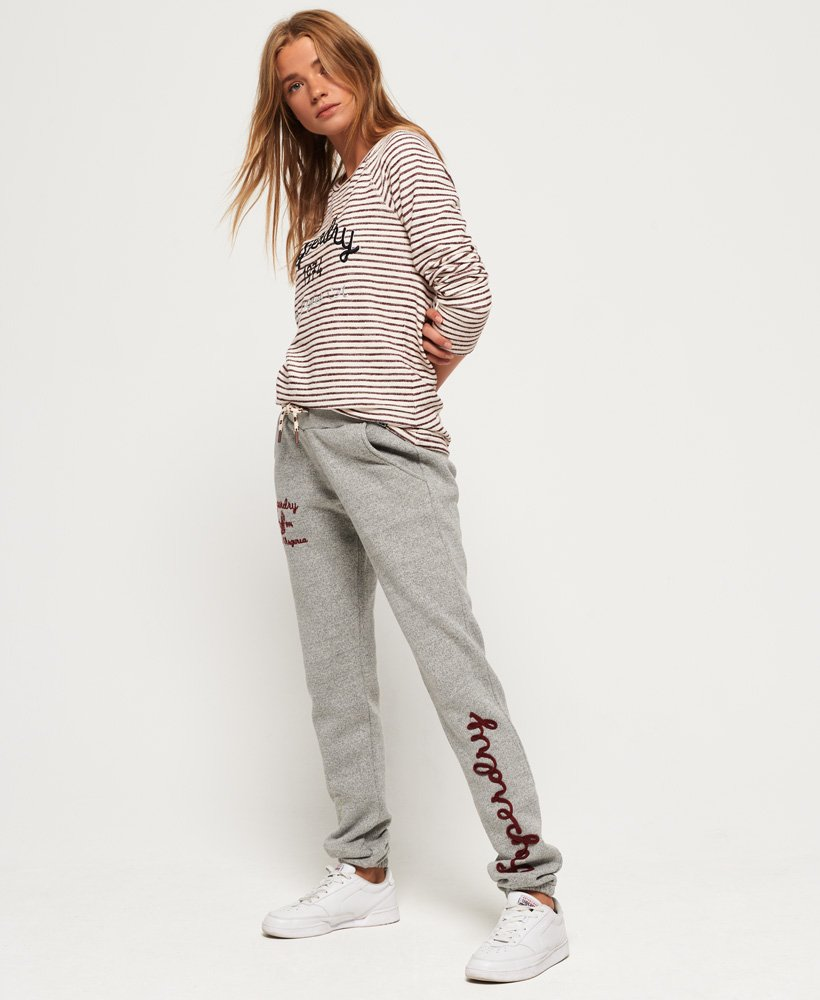 Superdry Rylee Embroidered Joggers thumbnail 1