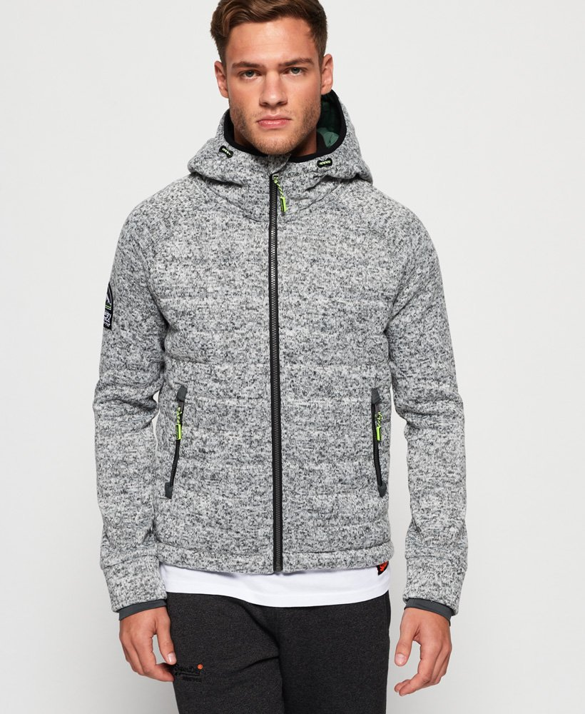 Superdry Storm Quilted Zip Hoodie thumbnail 1