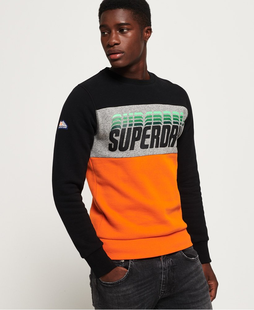 Superdry Sudadera con paneles Triple Drop Pop