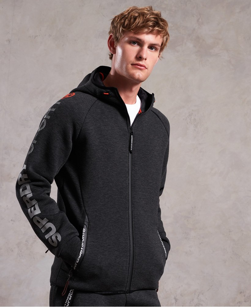 Superdry Gym Tech Stretch Kapuzenjacke