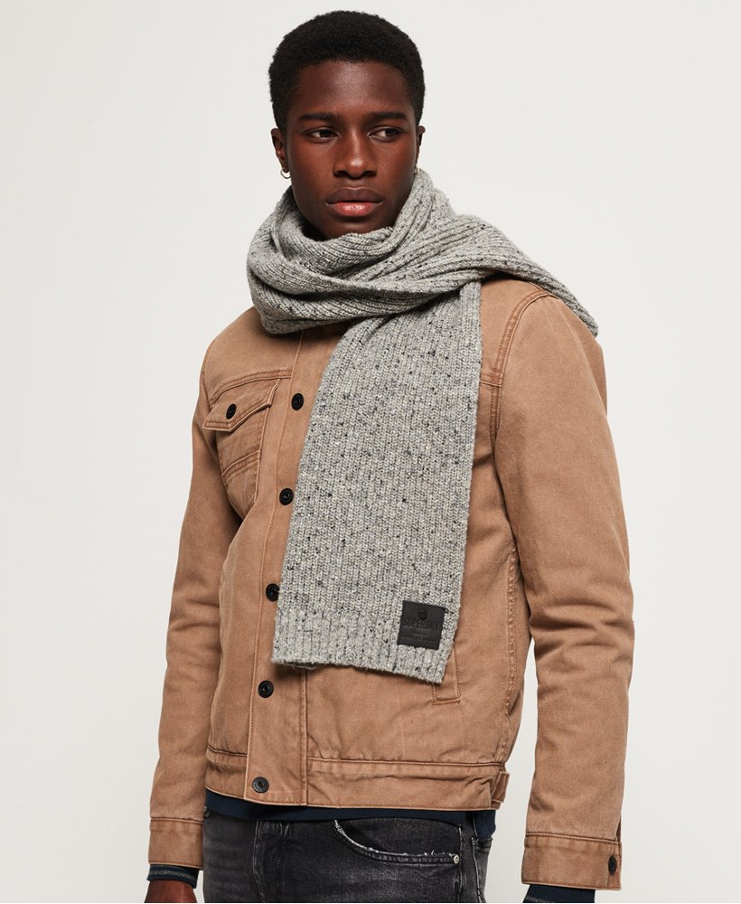 Superdry Surplus Goods Tweed Scarf