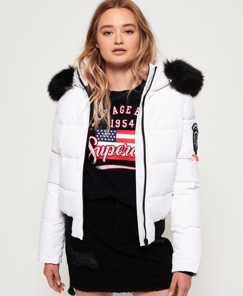 Superdry Everest Ella Bomber Jacket thumbnail 1