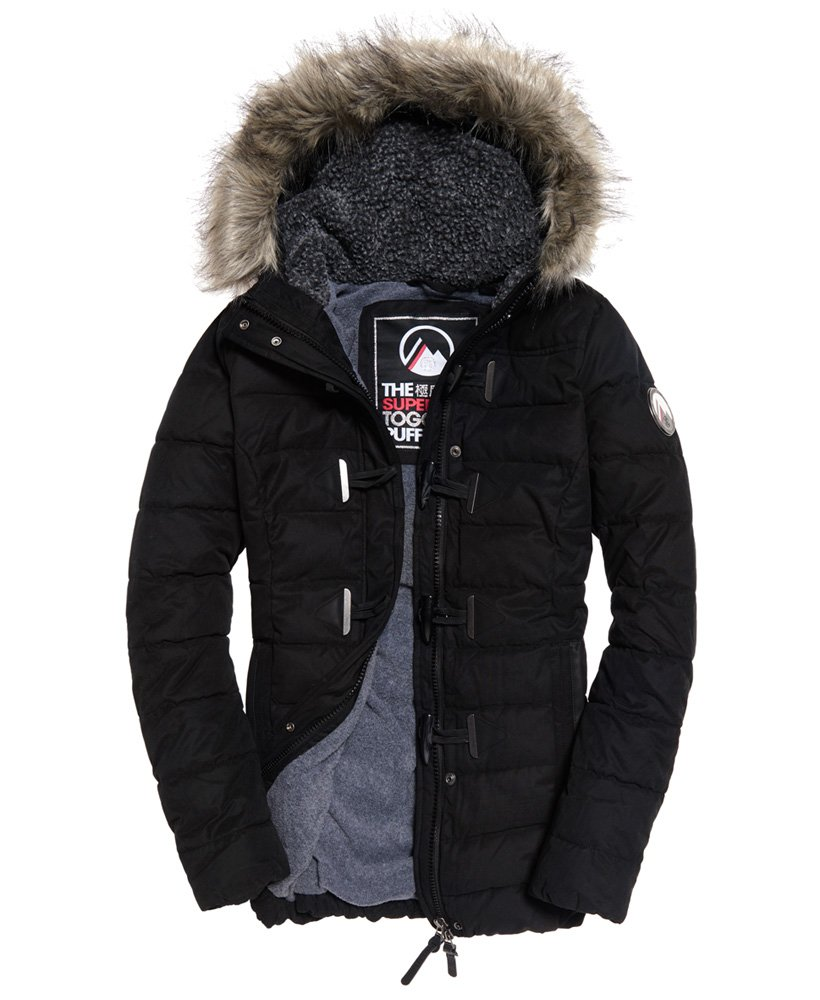 Superdry Parka microfibre Tall Toggle Puffle Vestes et