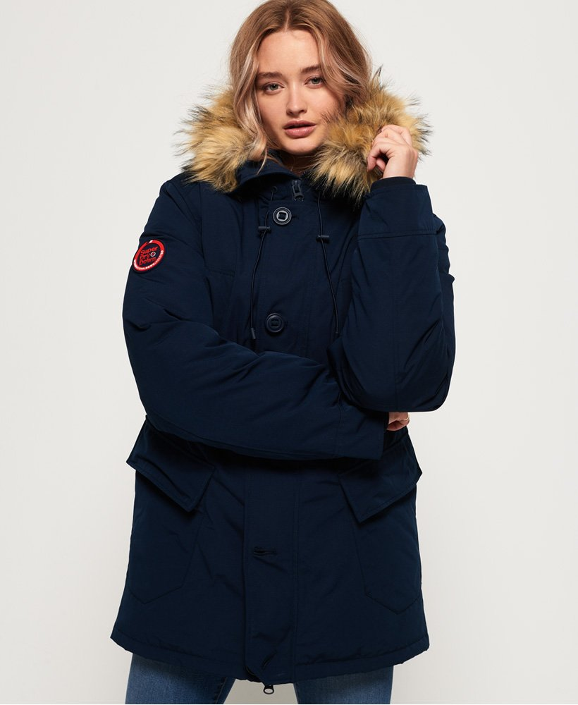 Superdry Rookie Down Parka Jacket thumbnail 1