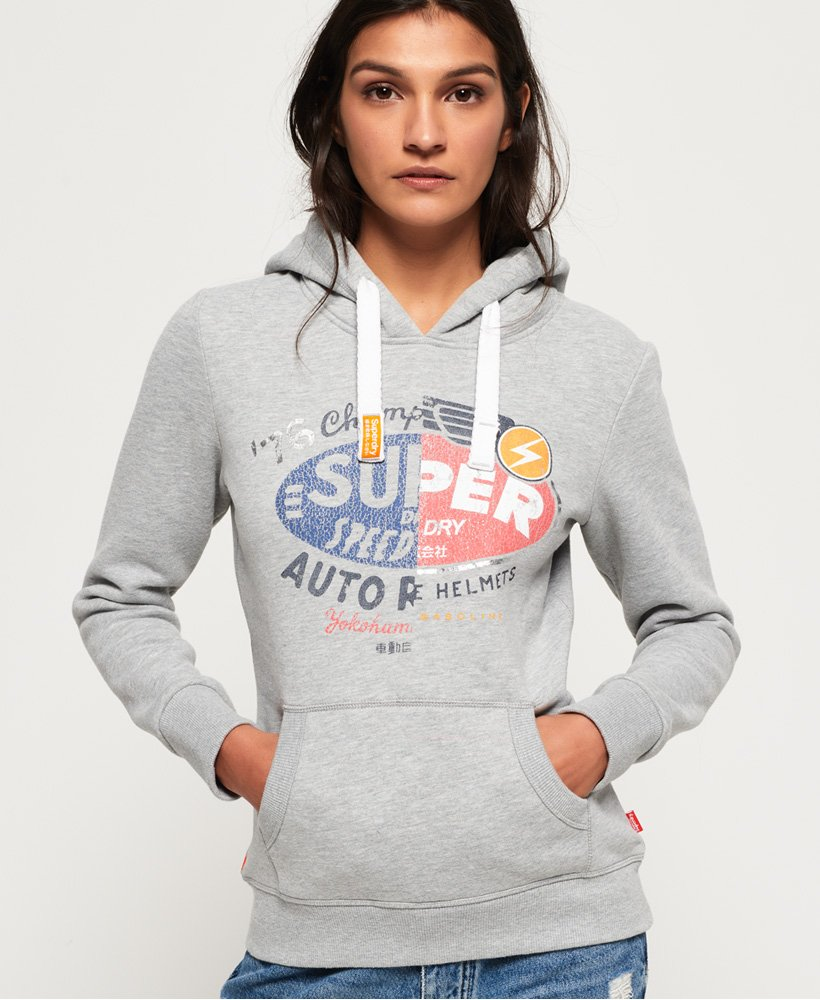 Superdry Gasoline Splice Hoodie