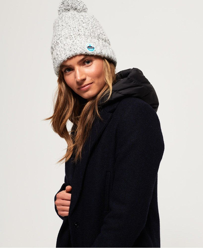Superdry Clarrie Stitch Beanie thumbnail 1