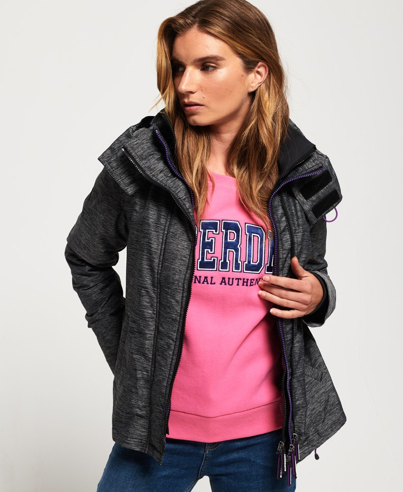 Superdry Tech Pop Zip SD-Windcheater vindjacka med huva