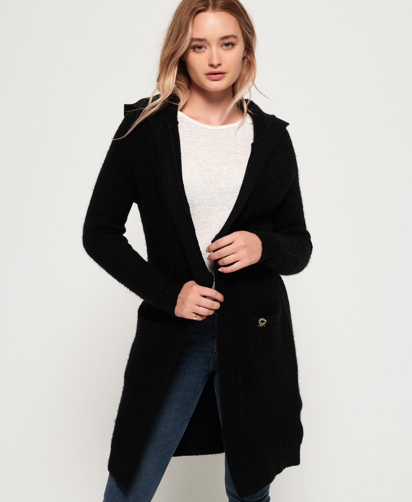 Superdry Taylor Hooded Longline Cardigan  thumbnail 1