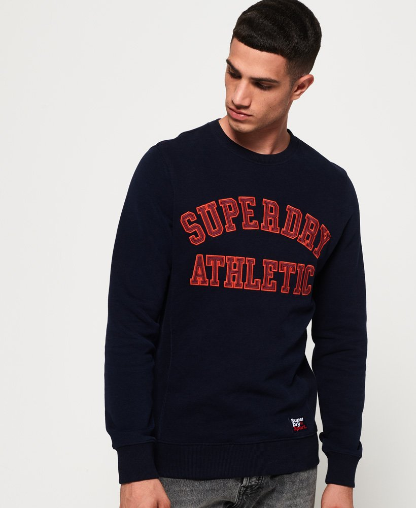 Superdry Academy Ribbed Sweatshirt