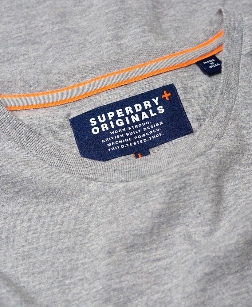 Superdry Dry Originals Long Line T skjorte Herre T skjorter
