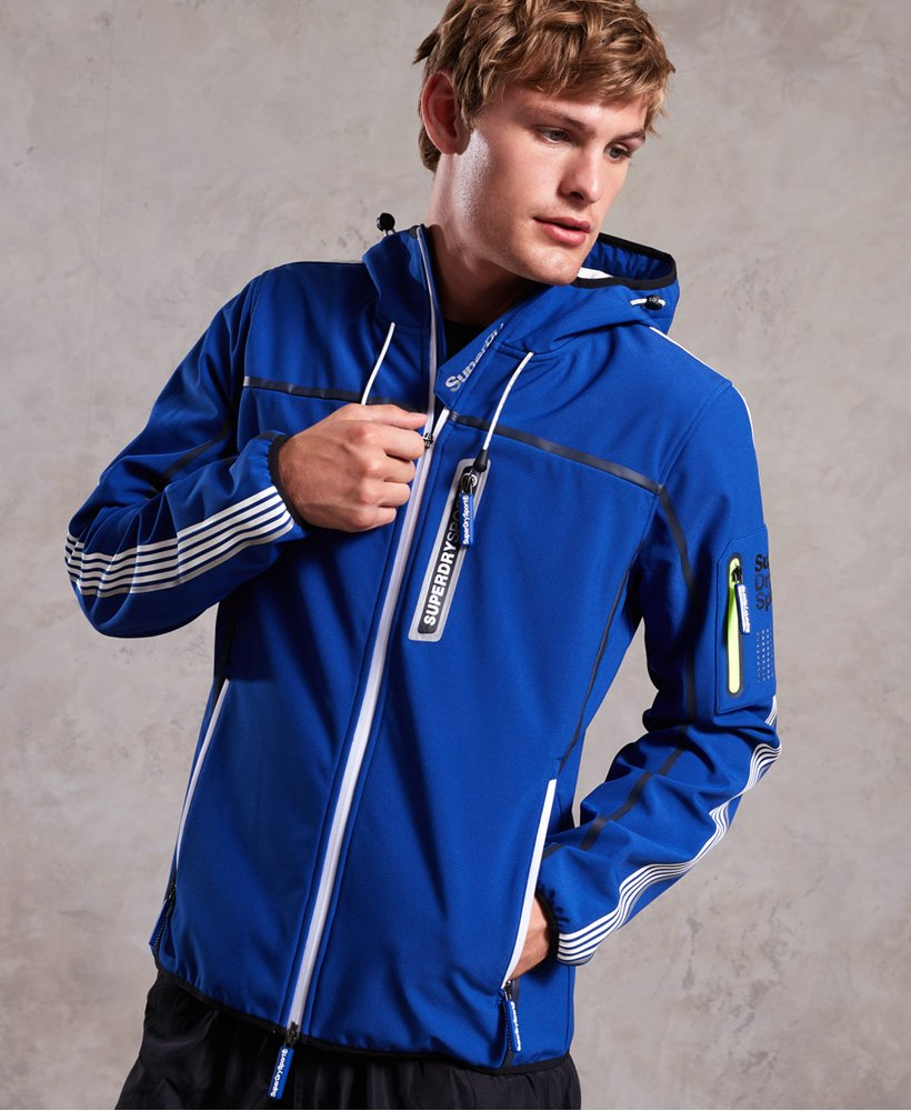 Superdry Polar Team Sport Trakker jakke