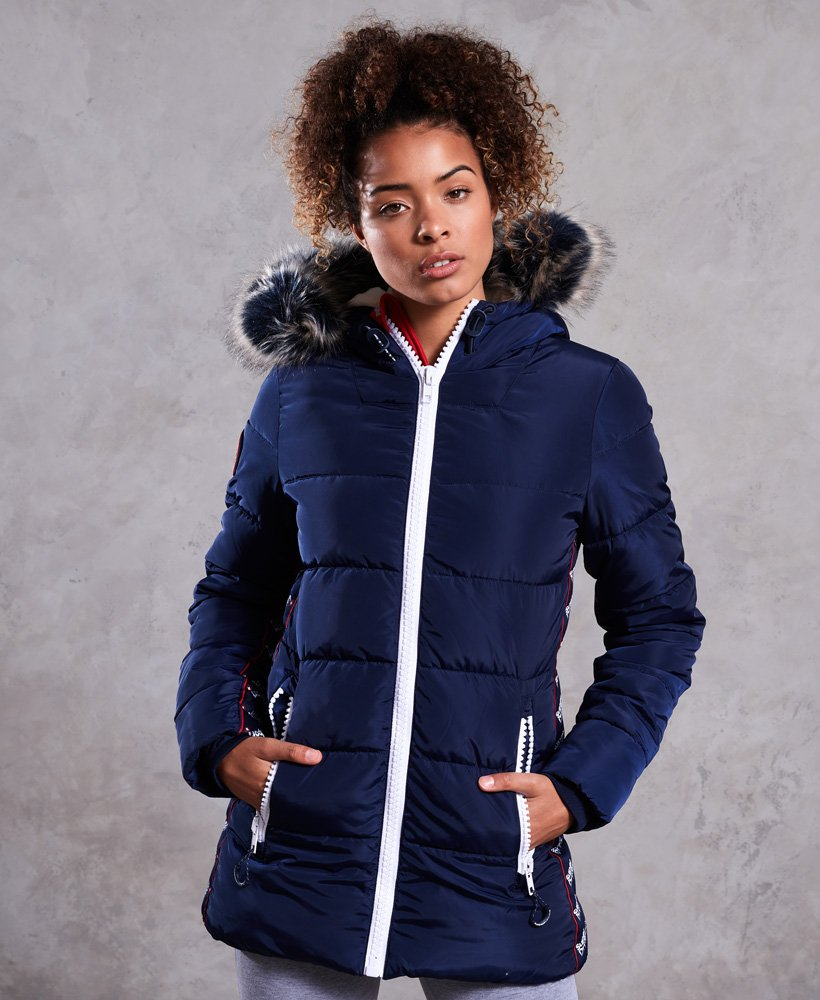 Superdry Streetwear Tall Repeat Puffer Jacket  thumbnail 1