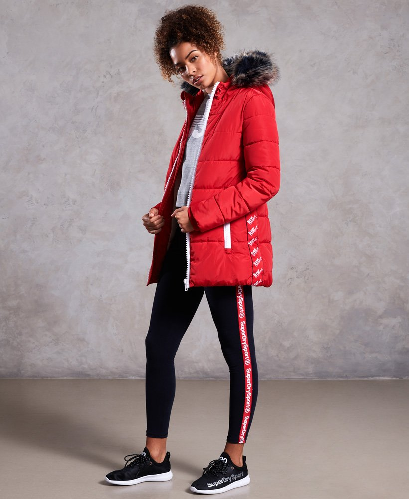 149dda6cb Superdry Streetwear Tall Repeat Puffer Jacket for Womens