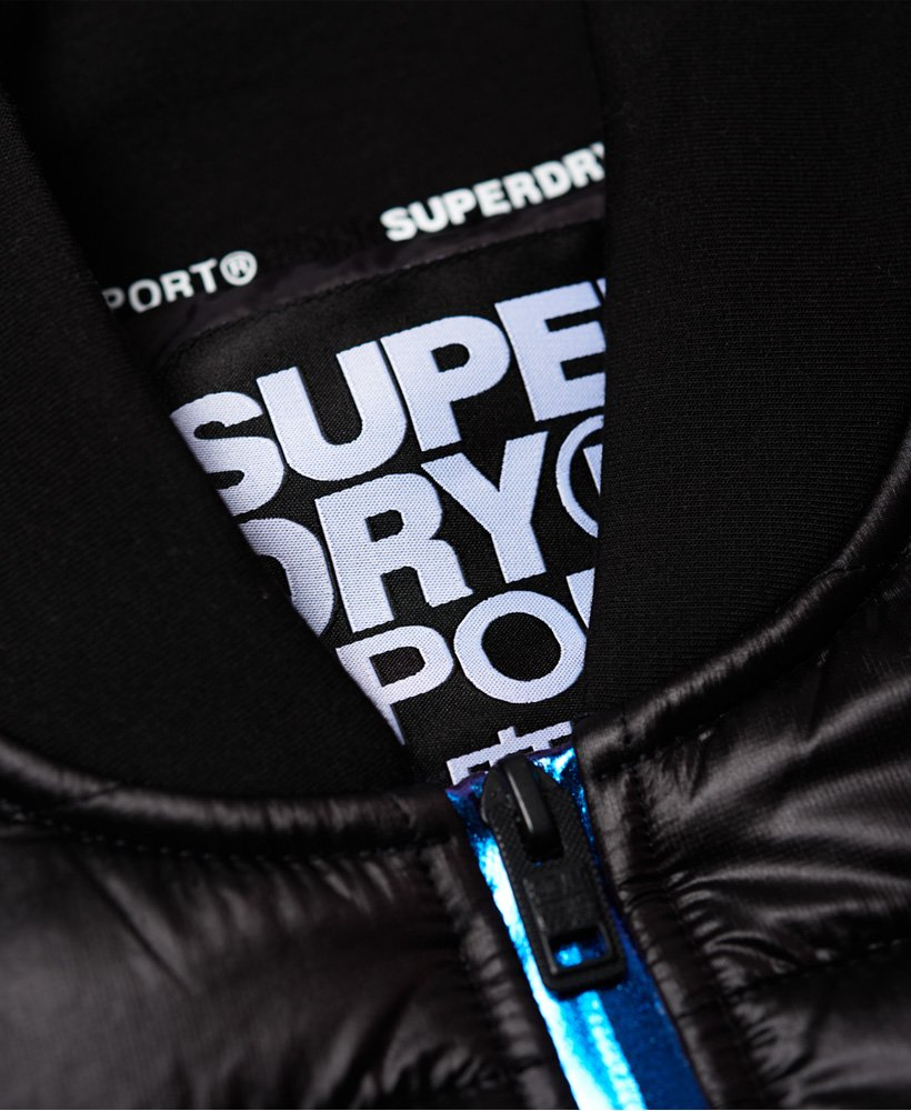 Superdry Core Gym Tech Hybrid Bomber takki Miehet Takit