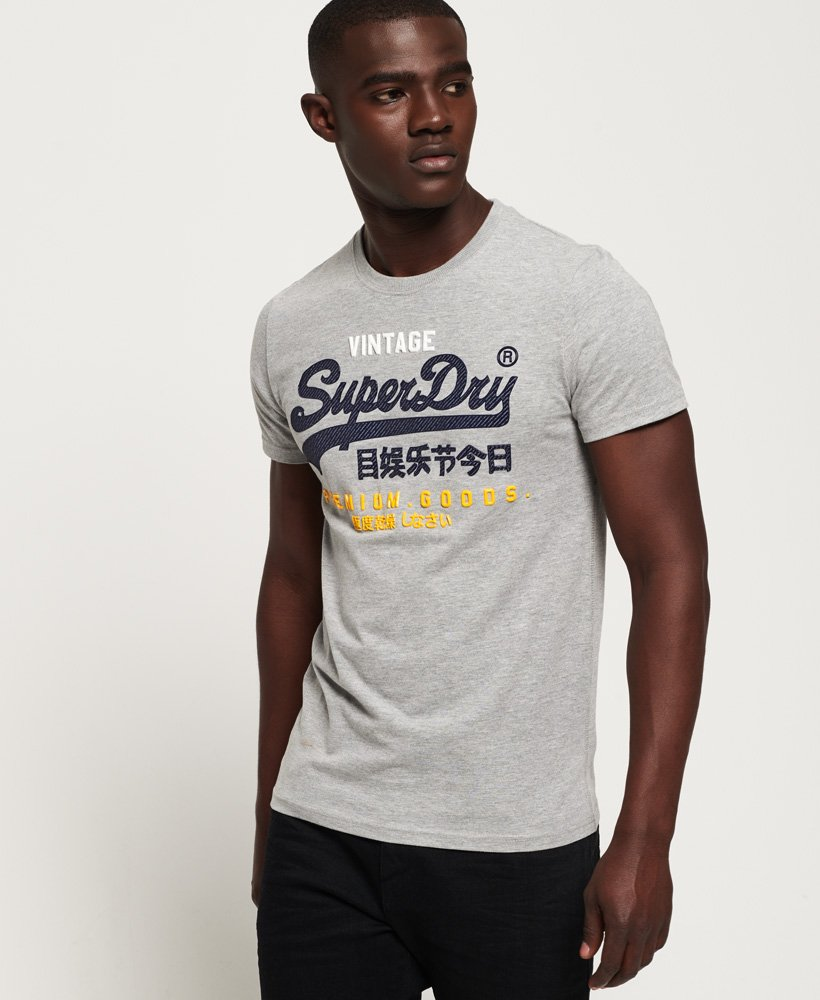 Superdry Premium Goods Infill T-Shirt thumbnail 1