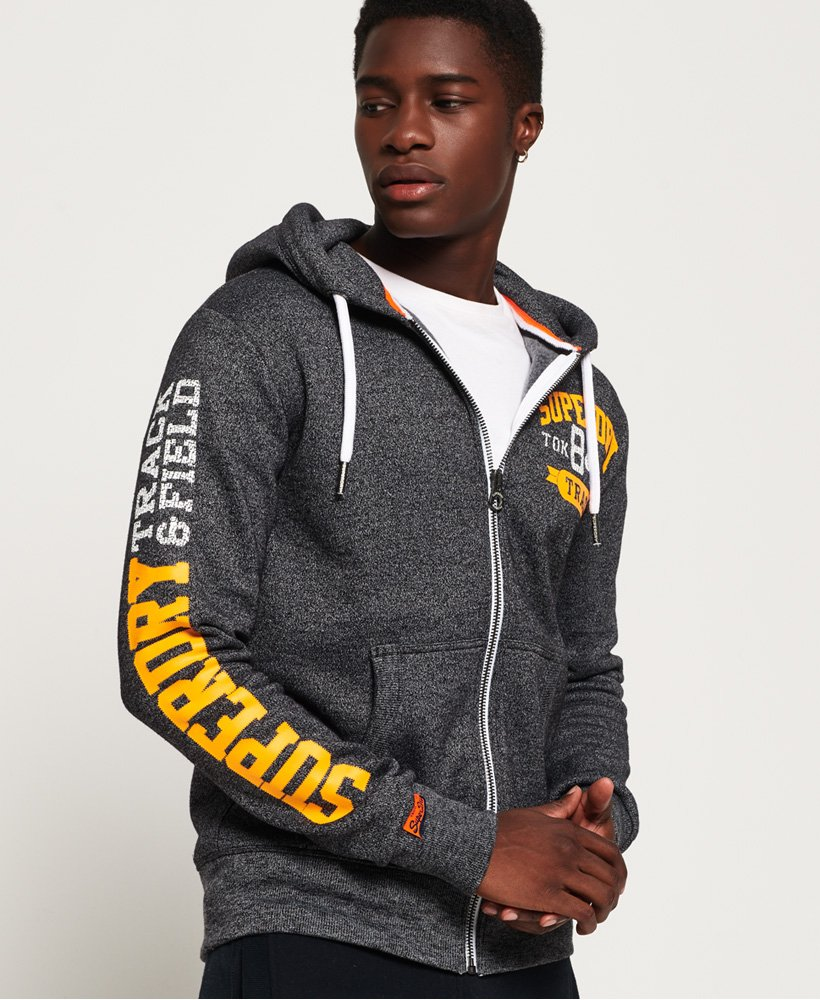 Superdry Track and Field Kapuzenjacke thumbnail 1