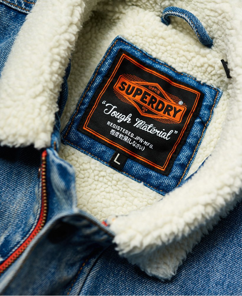 Superdry Hacienda Denim jakke Herre Jakker