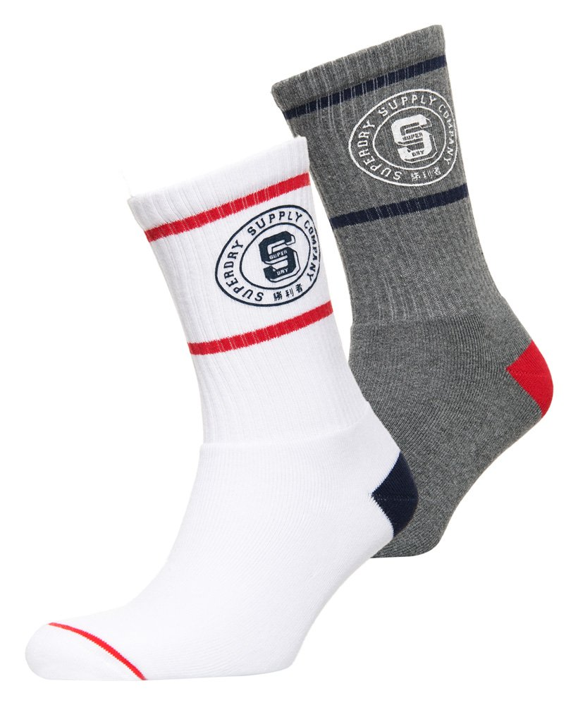 Superdry Varsity Socken im 2er-Pack