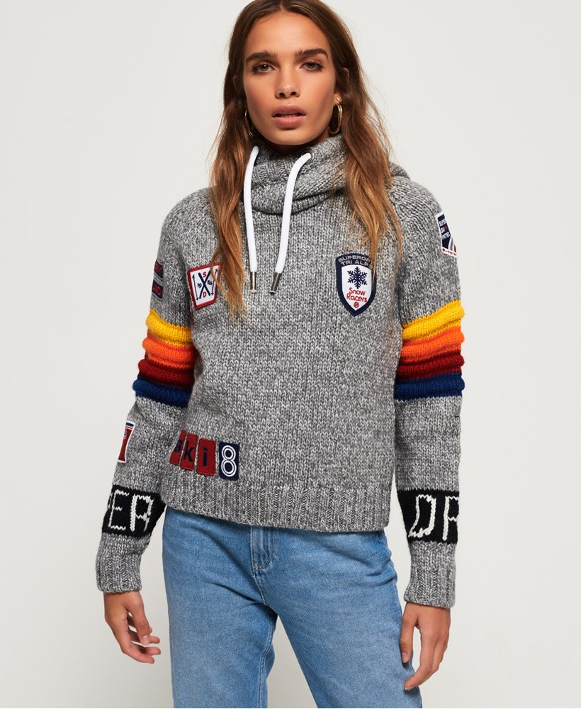 Superdry California Sport Crop Hoodie thumbnail 1