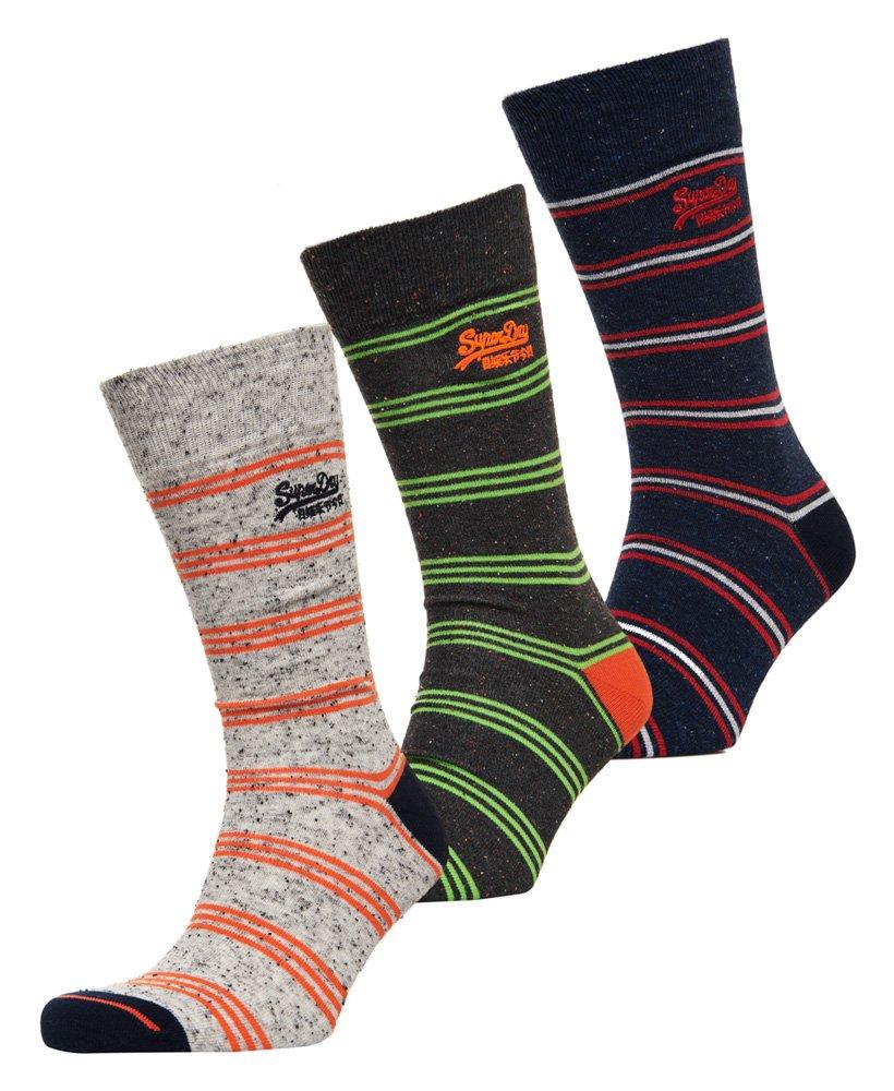 Superdry City Sock Triple Pack Boxed thumbnail 1