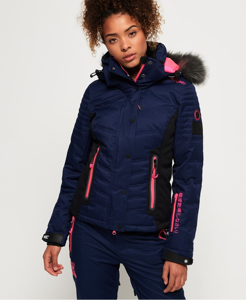 Superdry Luxe Snow Puffer Jacket thumbnail 1