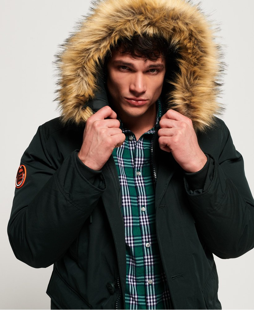Rookie Down Parka Jacket in Deep Forest