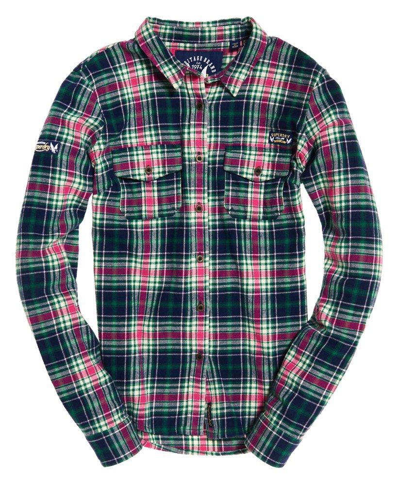 Superdry Imogen Lumberjack Karohemd Damen Shirts