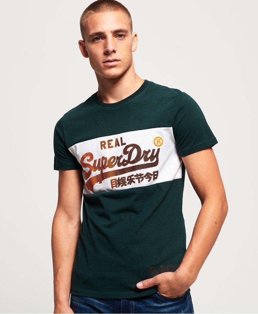 Superdry Vintage Logo 1st T Shirt mit Einsätzen Herren T