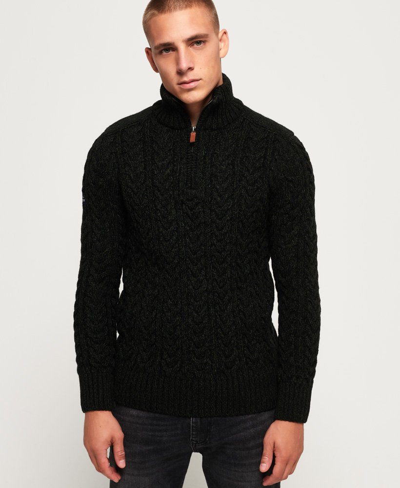 Superdry Jacob Henley Jumper thumbnail 1