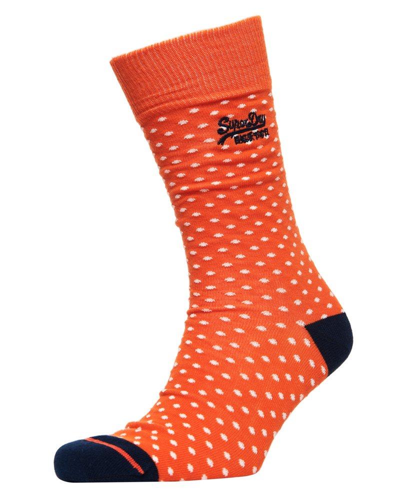 Homme Superdry City Rayure Gris Anthracite Orange Chaussettes /> Taille Unique UK 7-11 EU 41-46